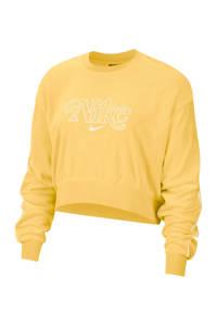 Nike sweater geel, Geel