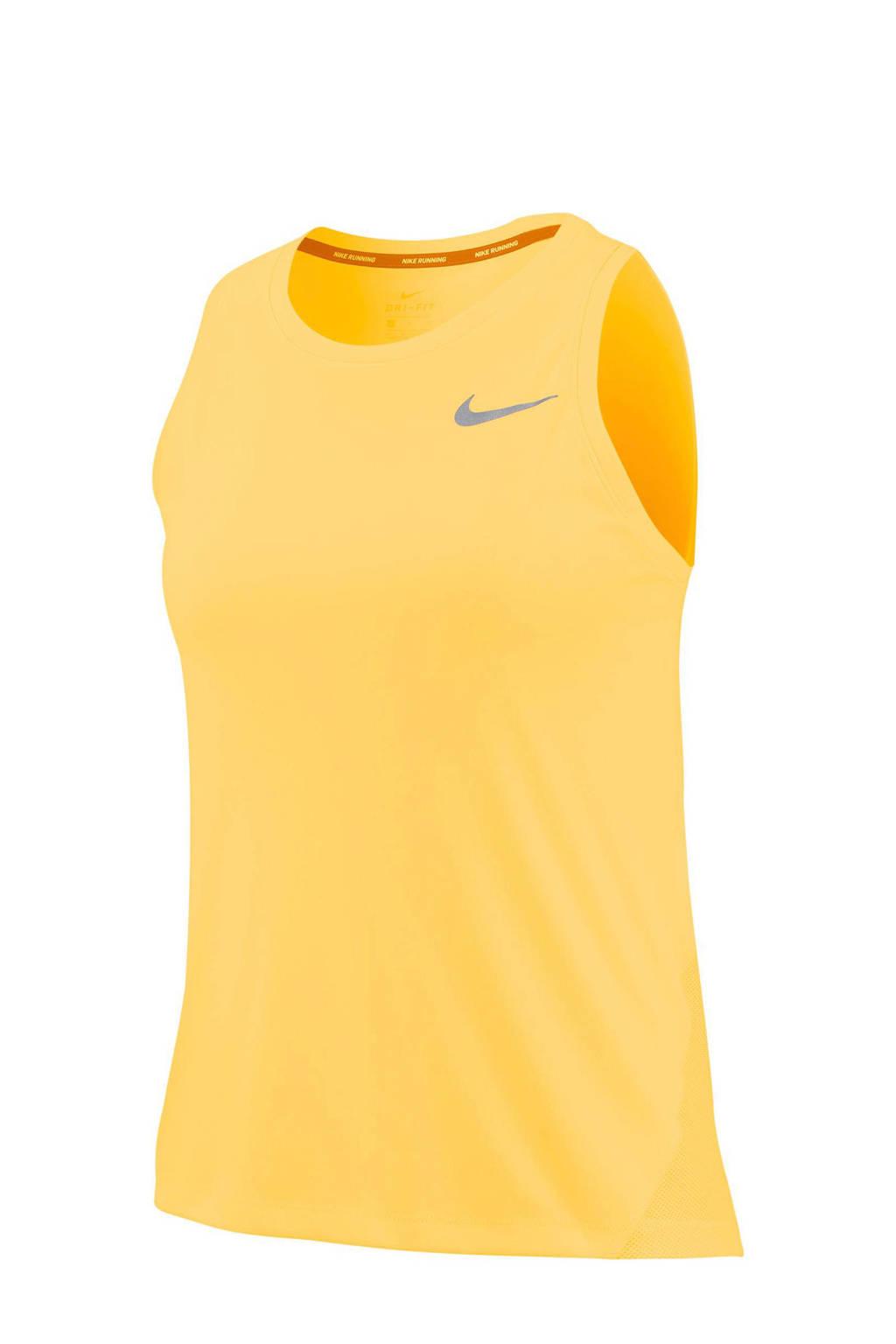 Nike hardloop T-shirt geel, Geel