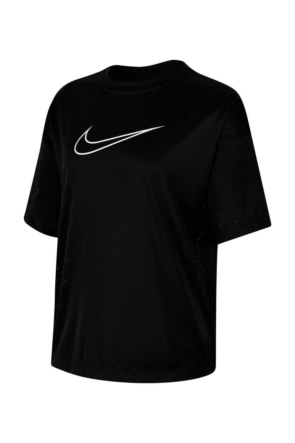Nike T-shirt zwart, Zwart