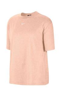Nike T-shirt lichtroze, Lichtroze