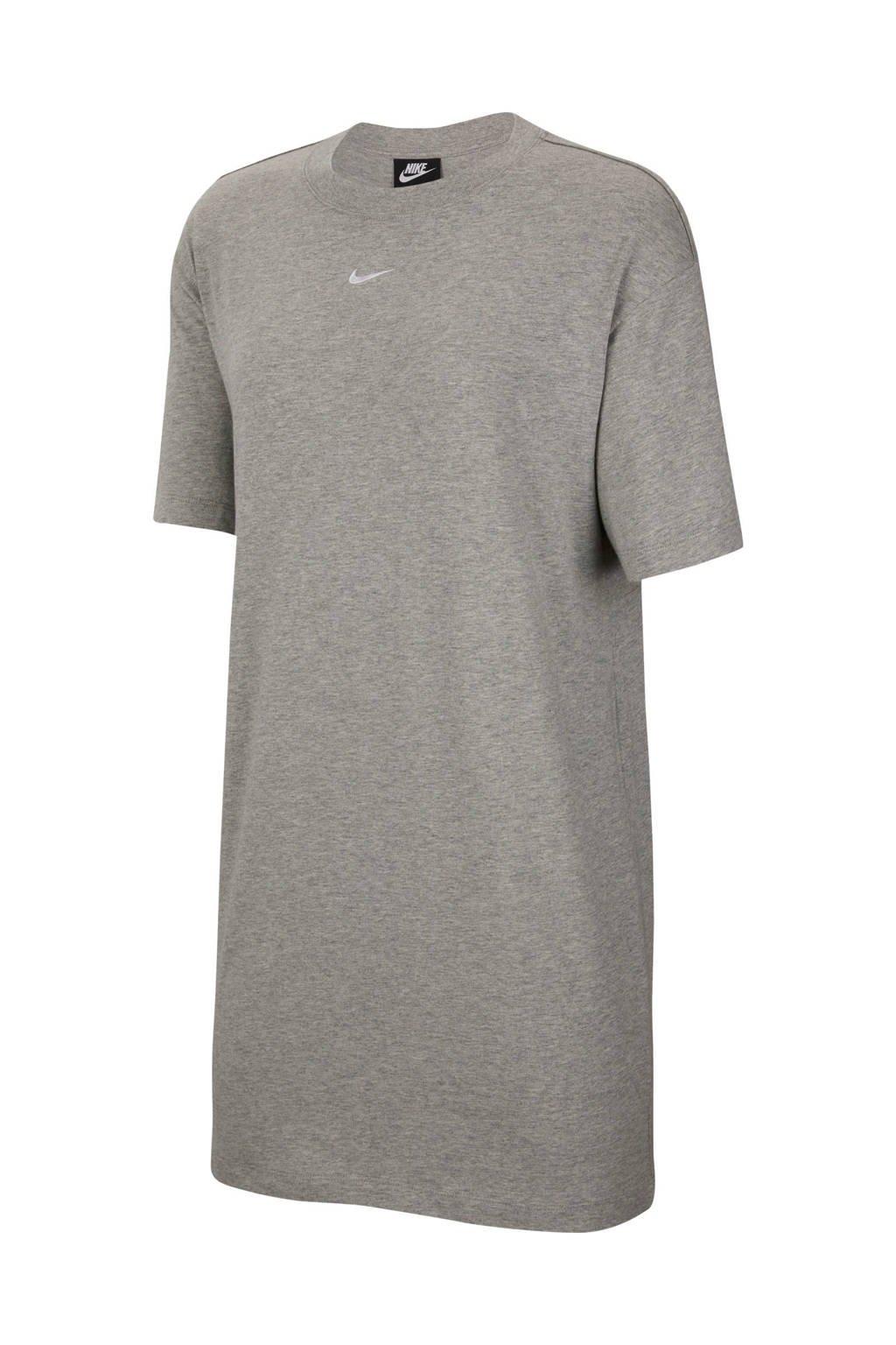 Nike T-shirt jurk grijs, Grijs