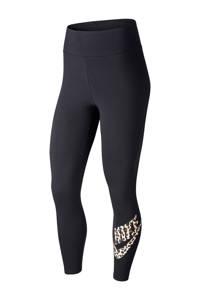 Nike legging zwart/beige, Zwart/beige