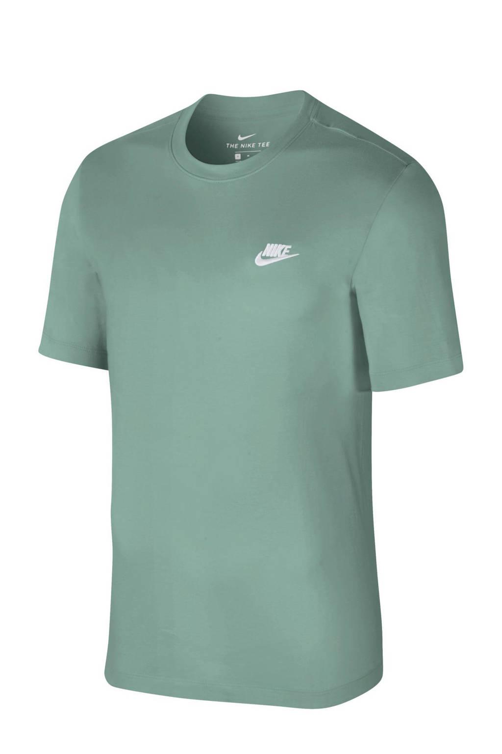 Nike T-shirt grijsgroen, Grijsgroen