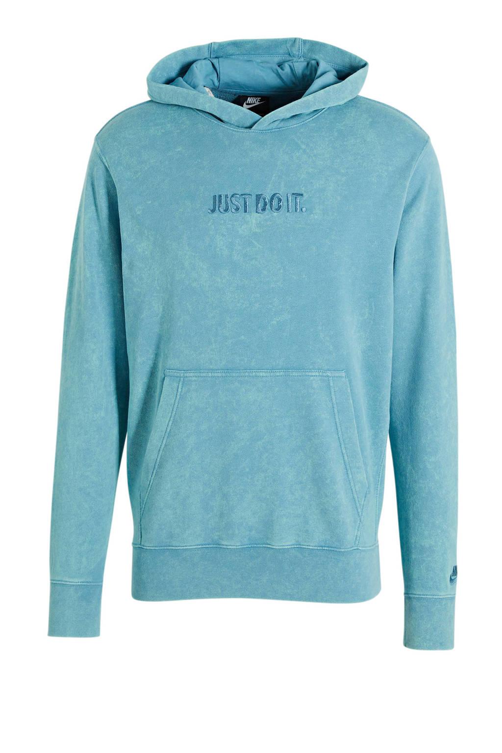 Nike hoodie lichtblauw, Lichtblauw