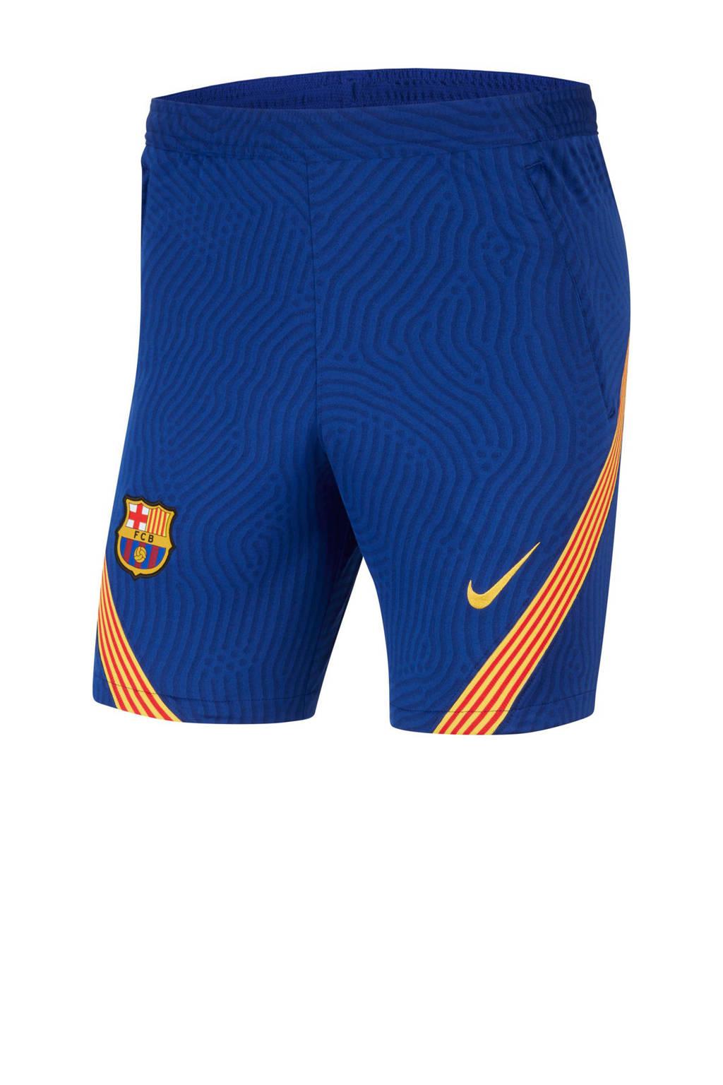 Nike Senior FC Barcelona voetbalshort, Blauw