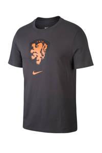 Nike Senior Nederland voetbalshirt antraciet, Antraciet