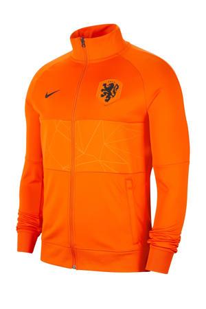Senior Nederland voetbalpest oranje