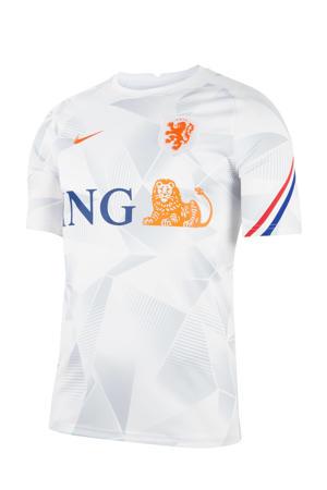 Nederland voetbalshirt wit