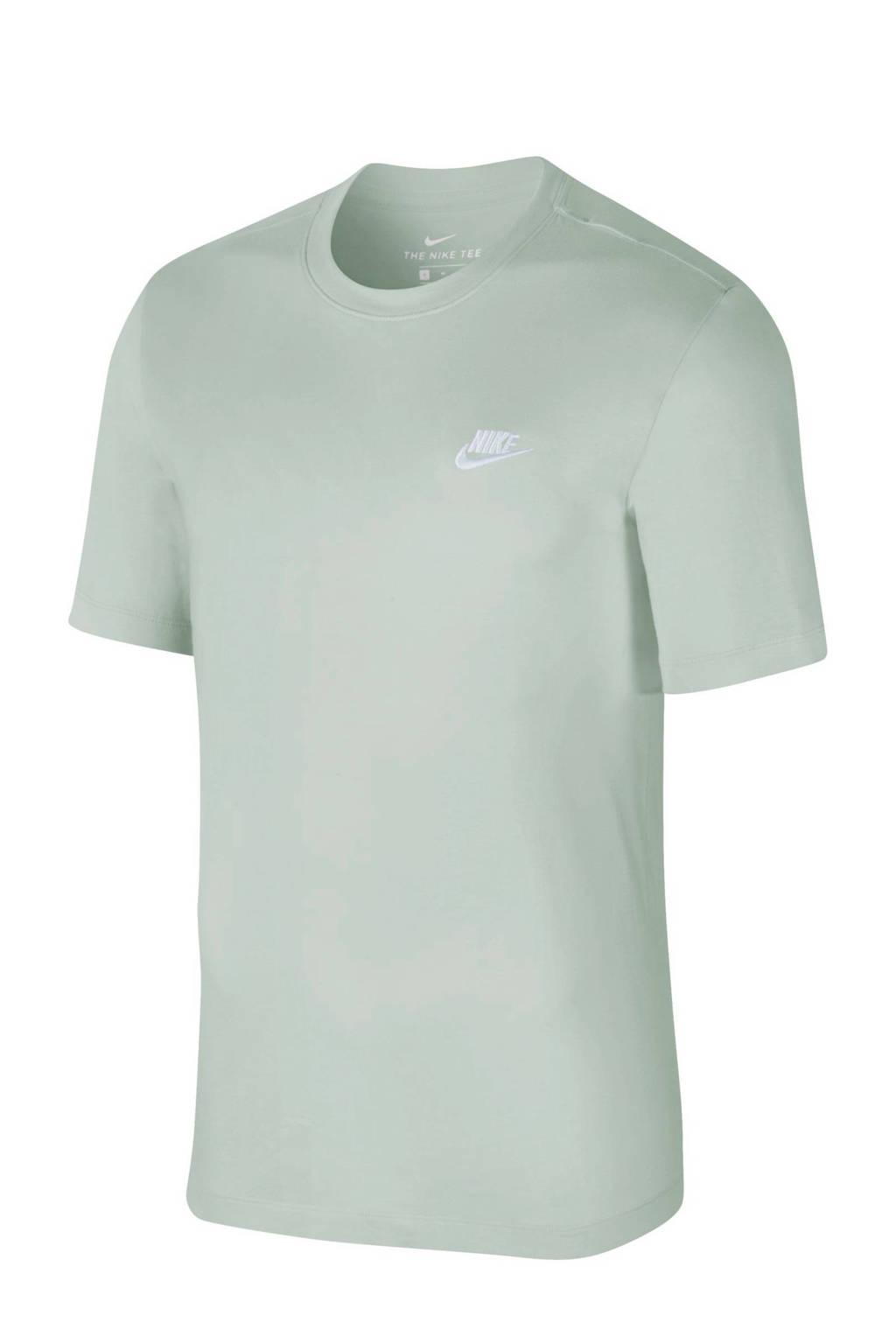 Nike T-shirt mintgroen, Mintgroen