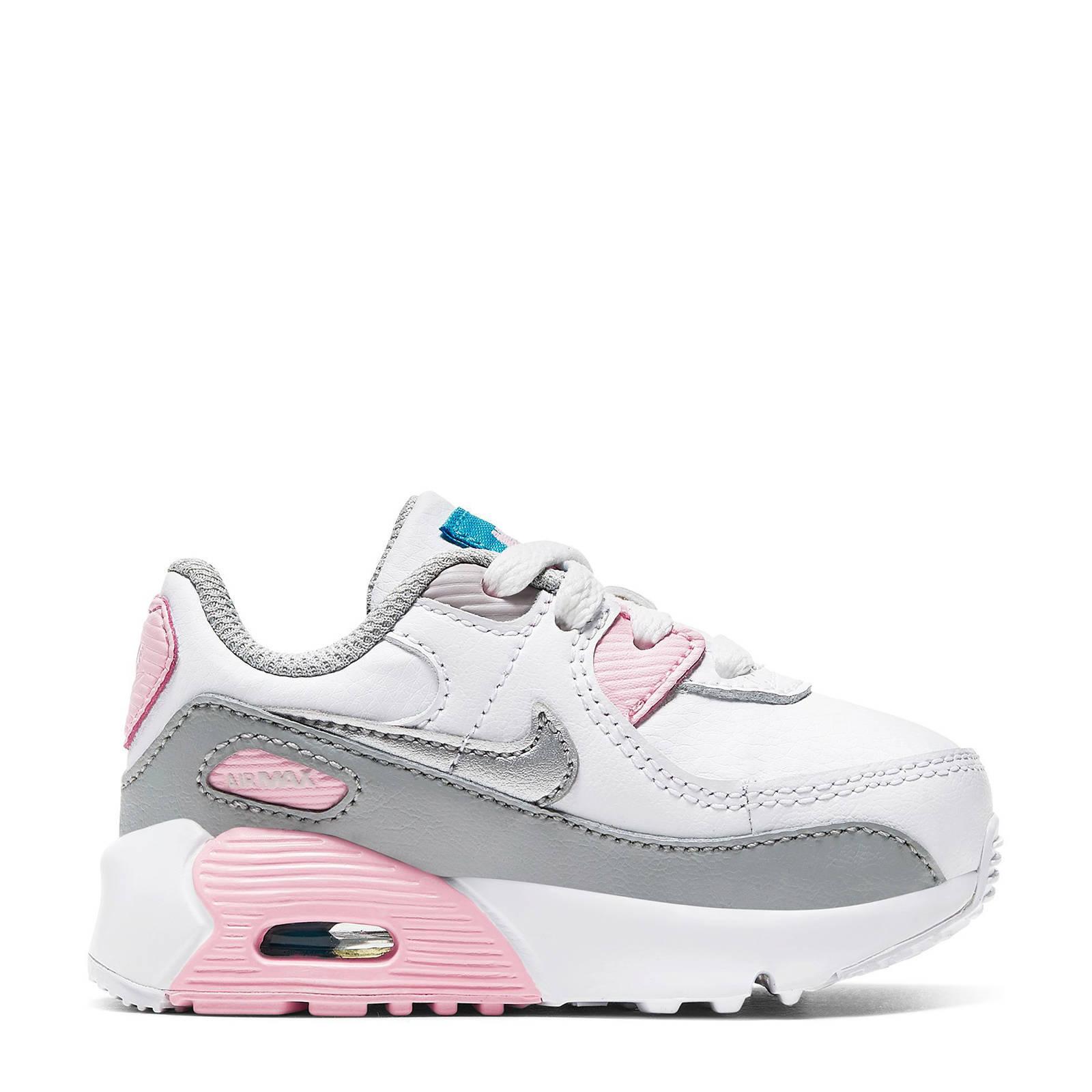 nike air max 90 roze grijs