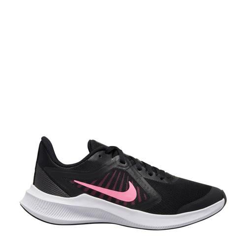 Nike Downshifter 10 (GS) sneakers zwart/roze