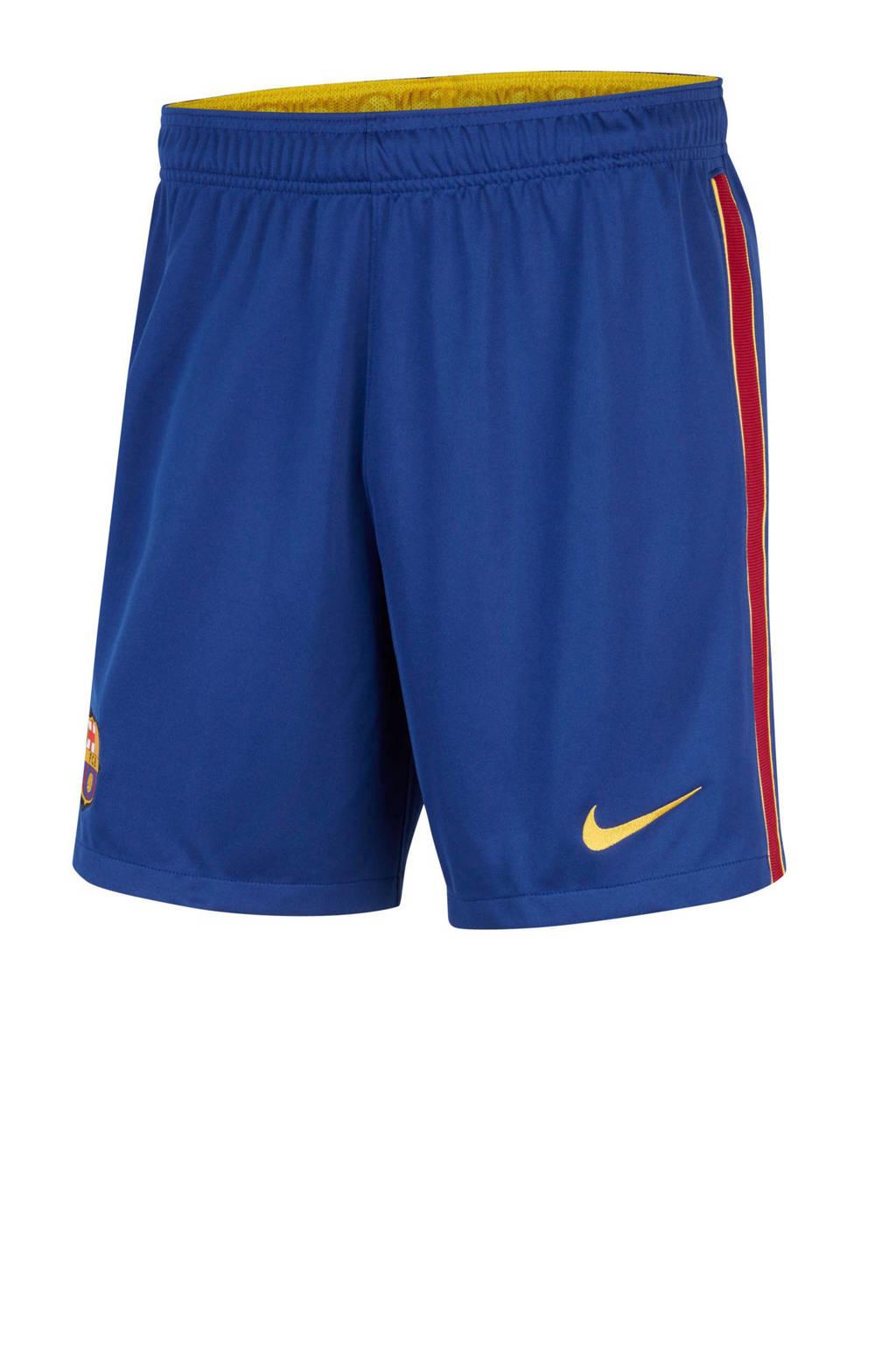 Nike Senior FC Barcelona thuis/uit short blauw, Blau