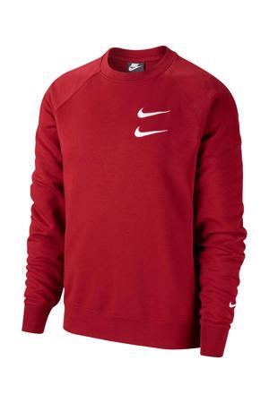 sweater bordeauxrood