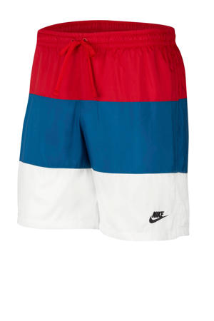 short rood/blauw/wit