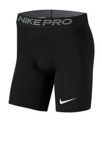 Nike Pro sportshort zwart, Zwart/wit