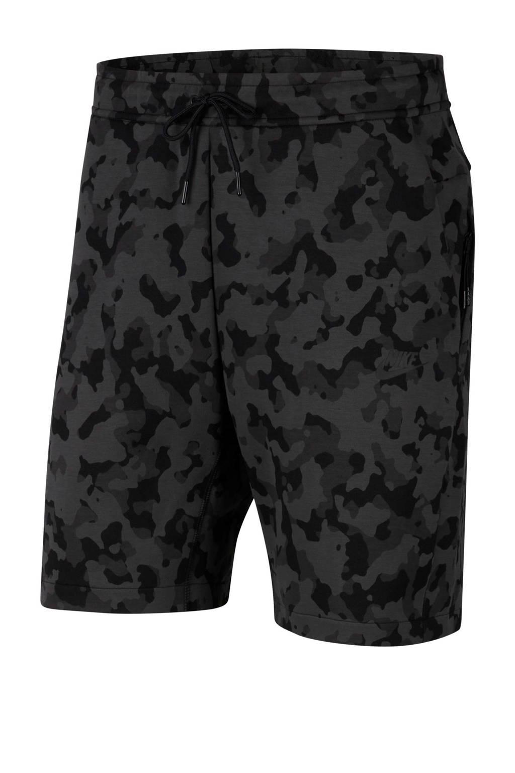 Nike   sweatshort antraciet/zwart, Antraciet/zwart