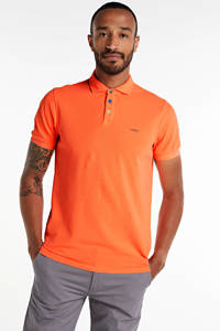 New Zealand Auckland regular fit polo oranje, Oranje