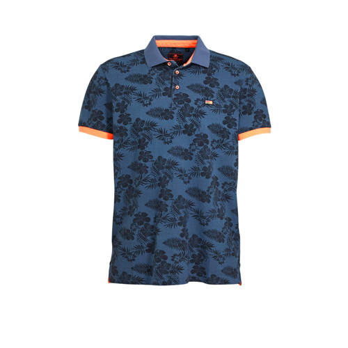 New Zealand Auckland regular fit polo met all over
