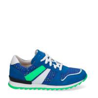Braqeez Tom Tosca  suède sneakers blauw, Blauw