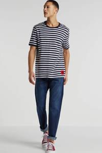 edc Men straight fit jeans 901 blue, 901 BLUE
