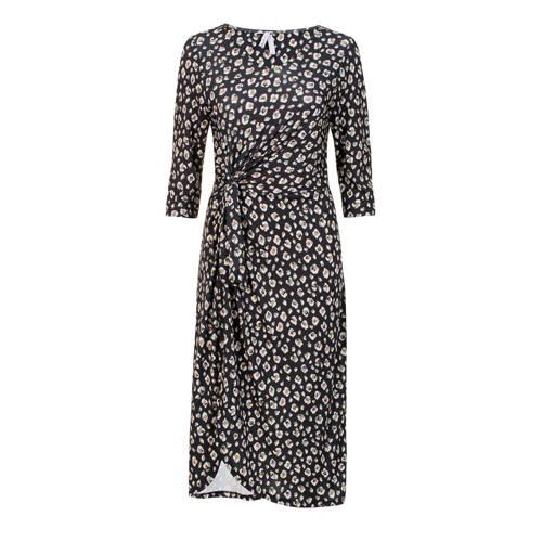 Miss Etam Regulier jersey jurk met all over print