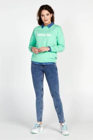 skinny jeans Elise 32 inch blauw