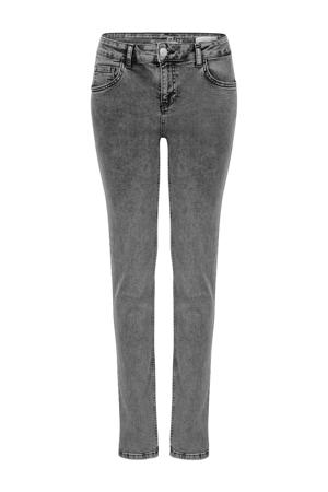 skinny jeans Elise 32 inch grijs