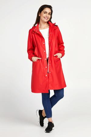regenjas rood