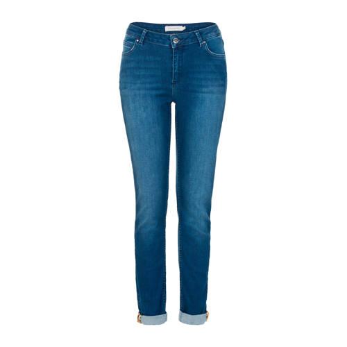 PROMISS slim fit jeans blauw