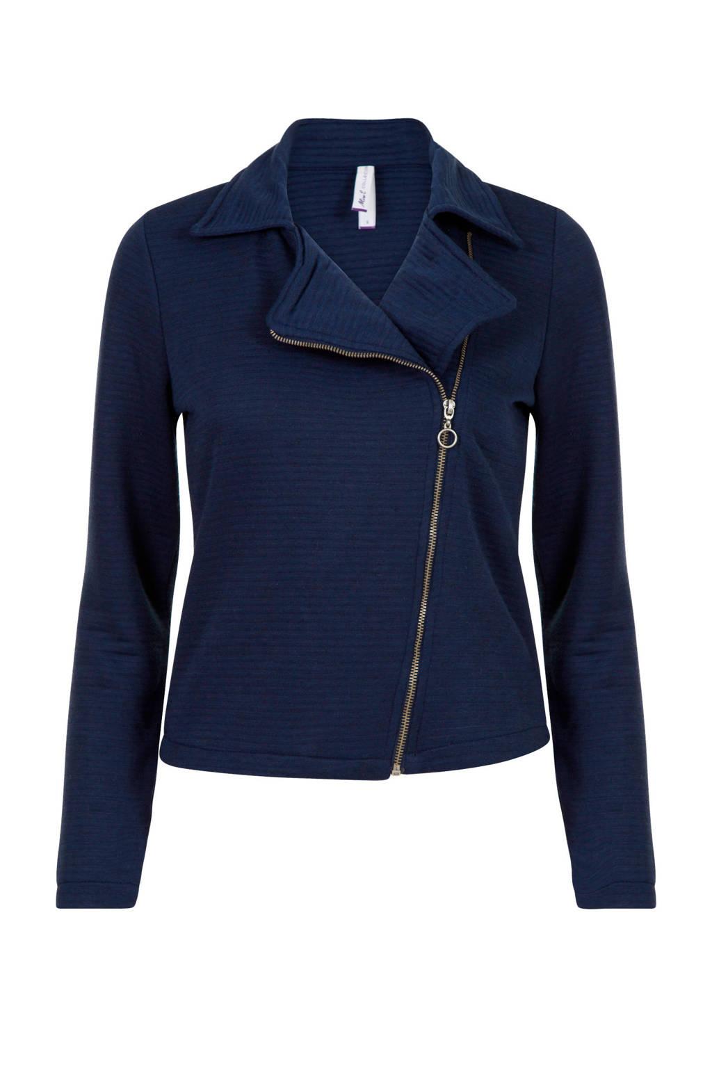 Miss Etam Regulier vest blauw, Blauw