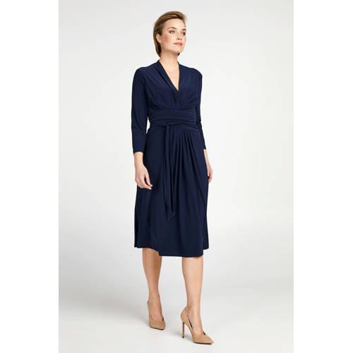 PROMISS jersey jurk blauw