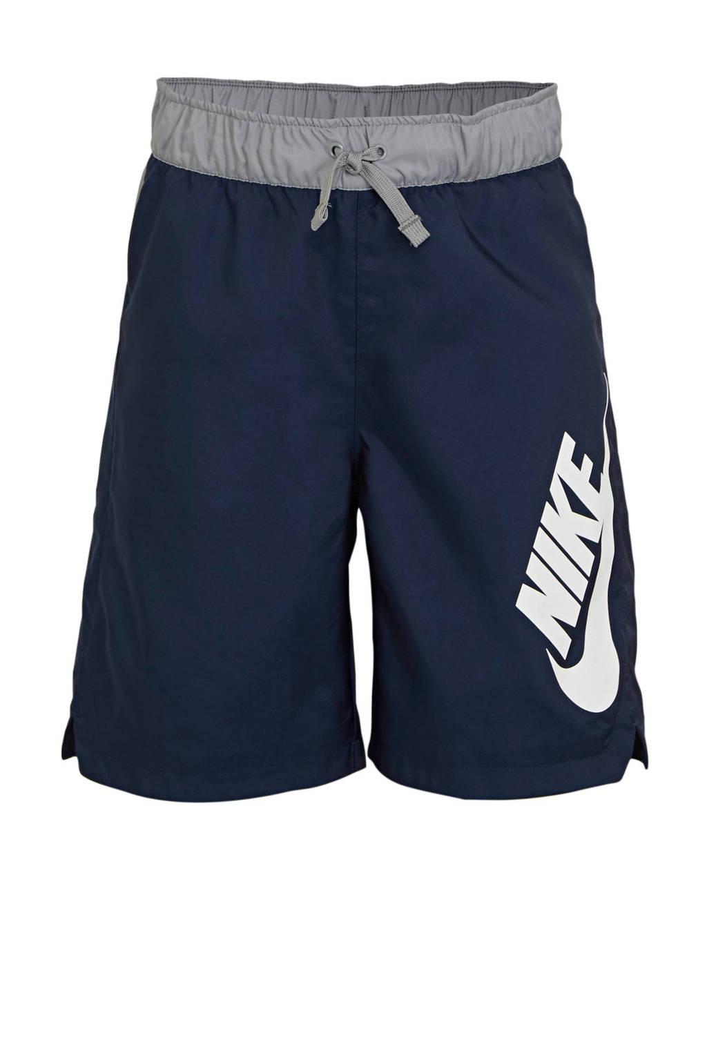 Nike   short donkerblauw, Donkerblauw