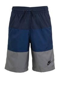 Nike   short blauw/grijs, Blauw/grijs