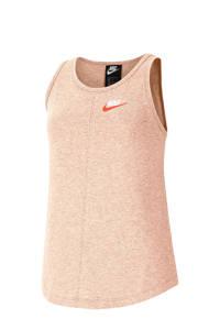 Nike top lichtroze, Lichtroze