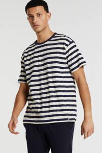 Anerkjendt gestreept T-shirt ecru, Ecru