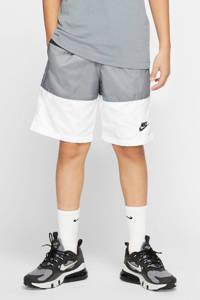 Nike short wit/antraciet, Wit/antraciet