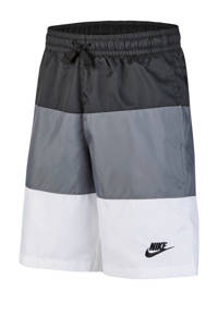 Nike short wit/antraciet, Wit/antraciet