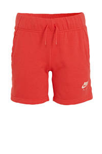 Nike short koraalrood, Koraalrood