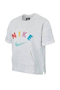 Nike sweater grijs melange, Grijs melange