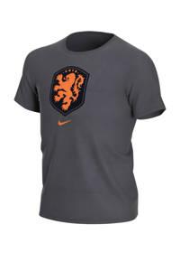 Nike Junior Nederland voetbalshirt antraciet/oranje, Antraciet/oranje
