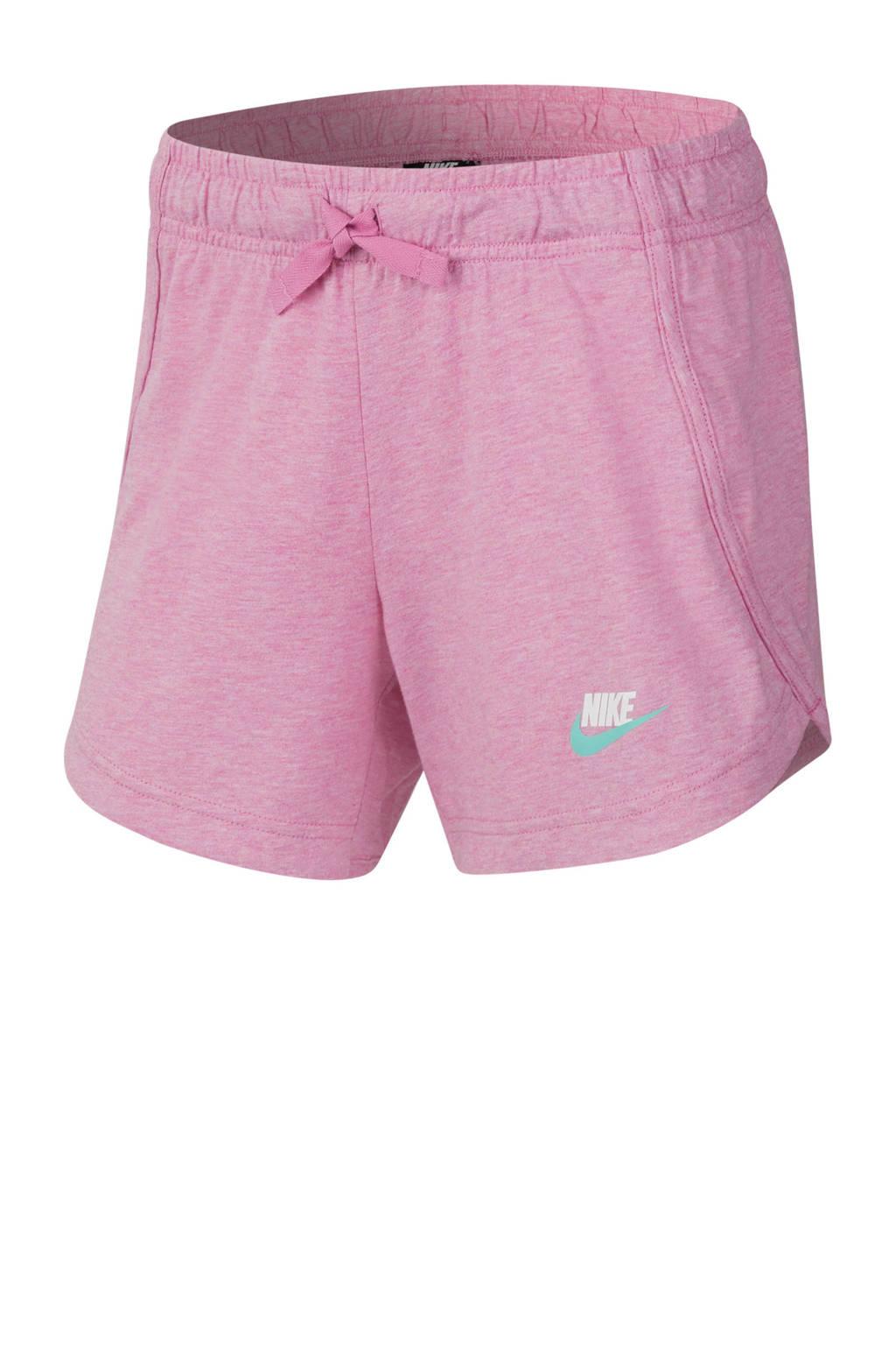 Nike sweatshort roze, Roze