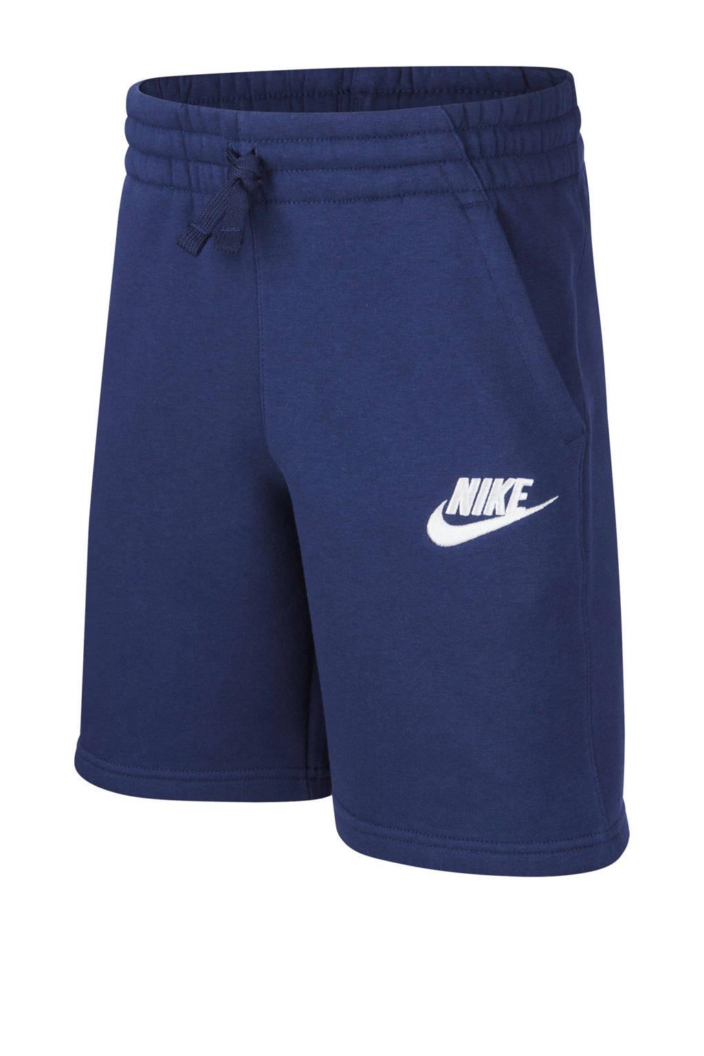 Nike sweatshort donkerblauw, Donkerblauw