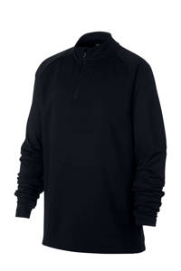 Nike   voetbalshirt zwart, Zwart