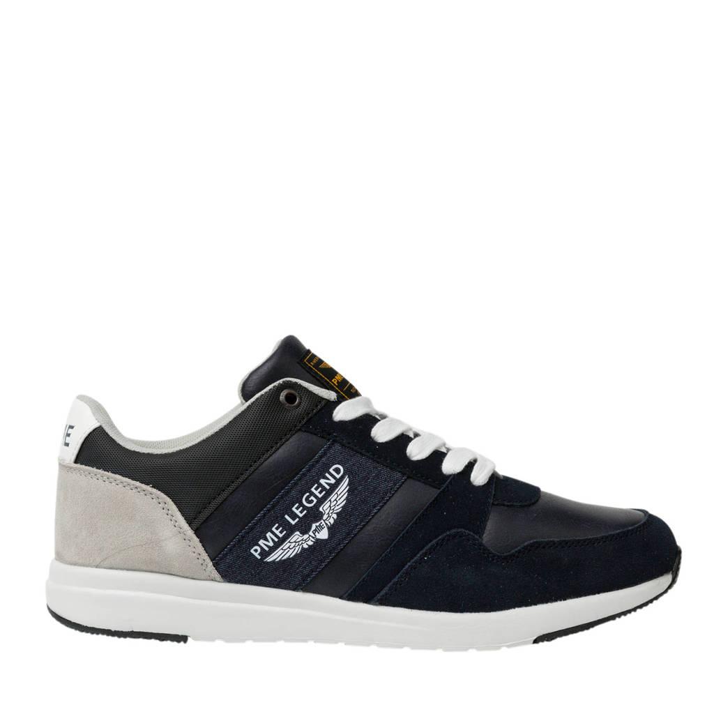 PME Legend Dragger  leren sneakers donkerblauw, Donkerblauw