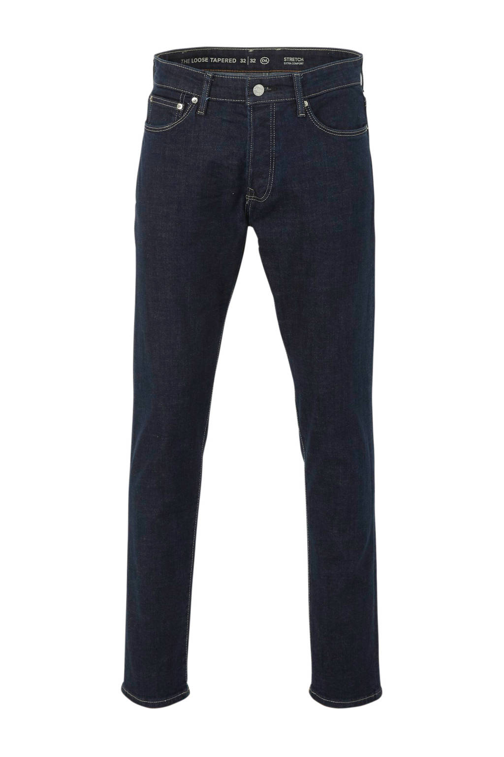 C&A The Denim loose fit jeans donkerblauw, Donkerblauw