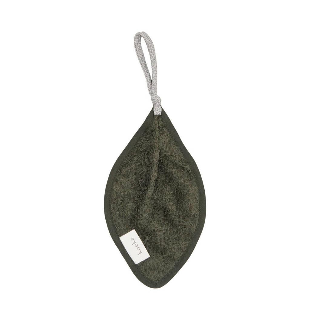 Koeka Dijon Organic speendoekje thyme, shadow green