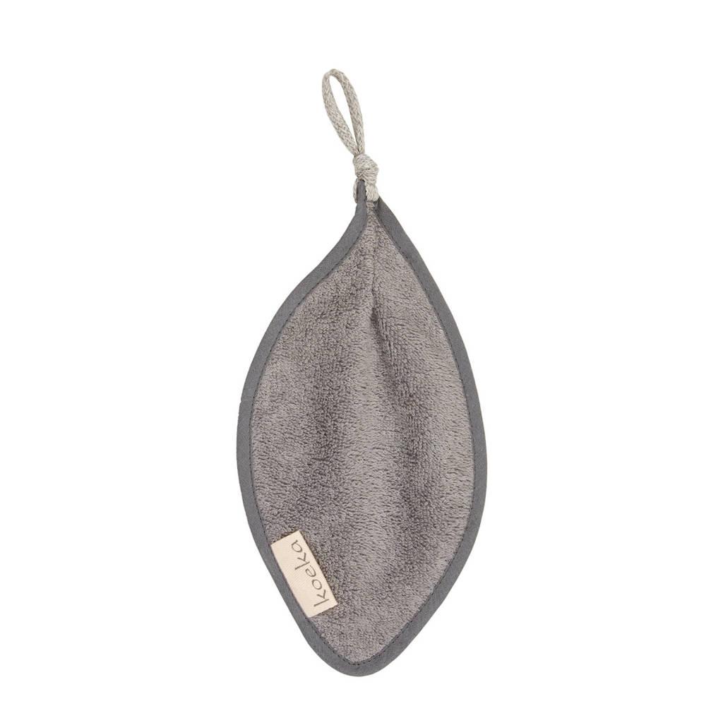 Koeka Dijon Organic speendoekje Steel Grey, Steel grey