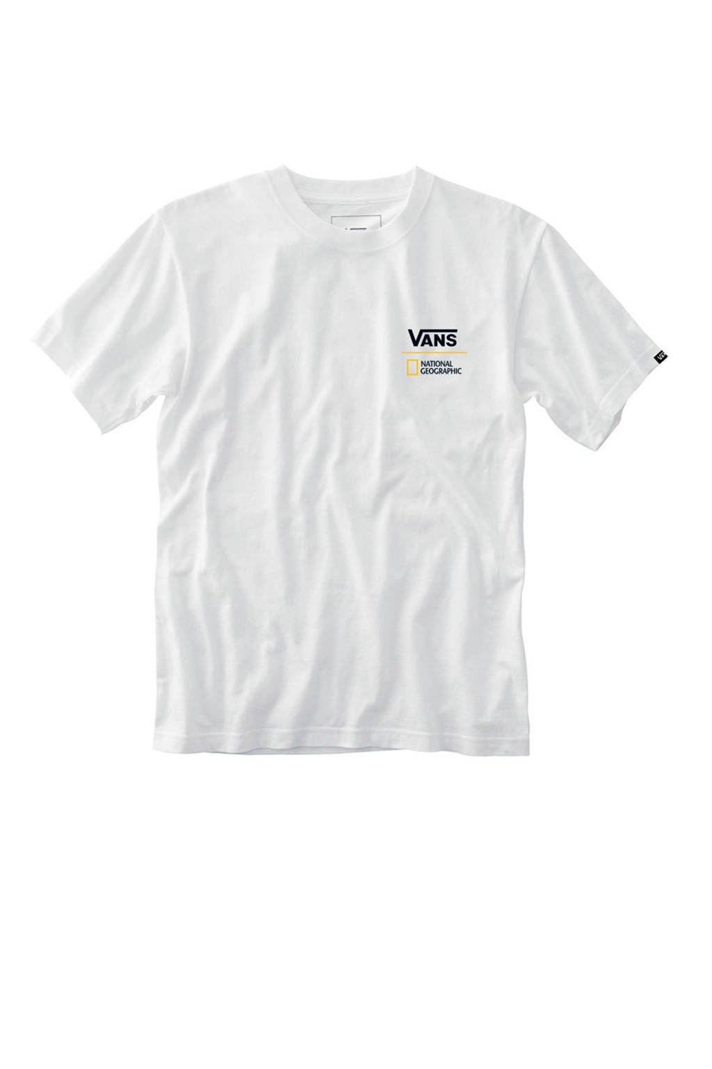 VANS   X National Geographic T-Shirt wit, Wit