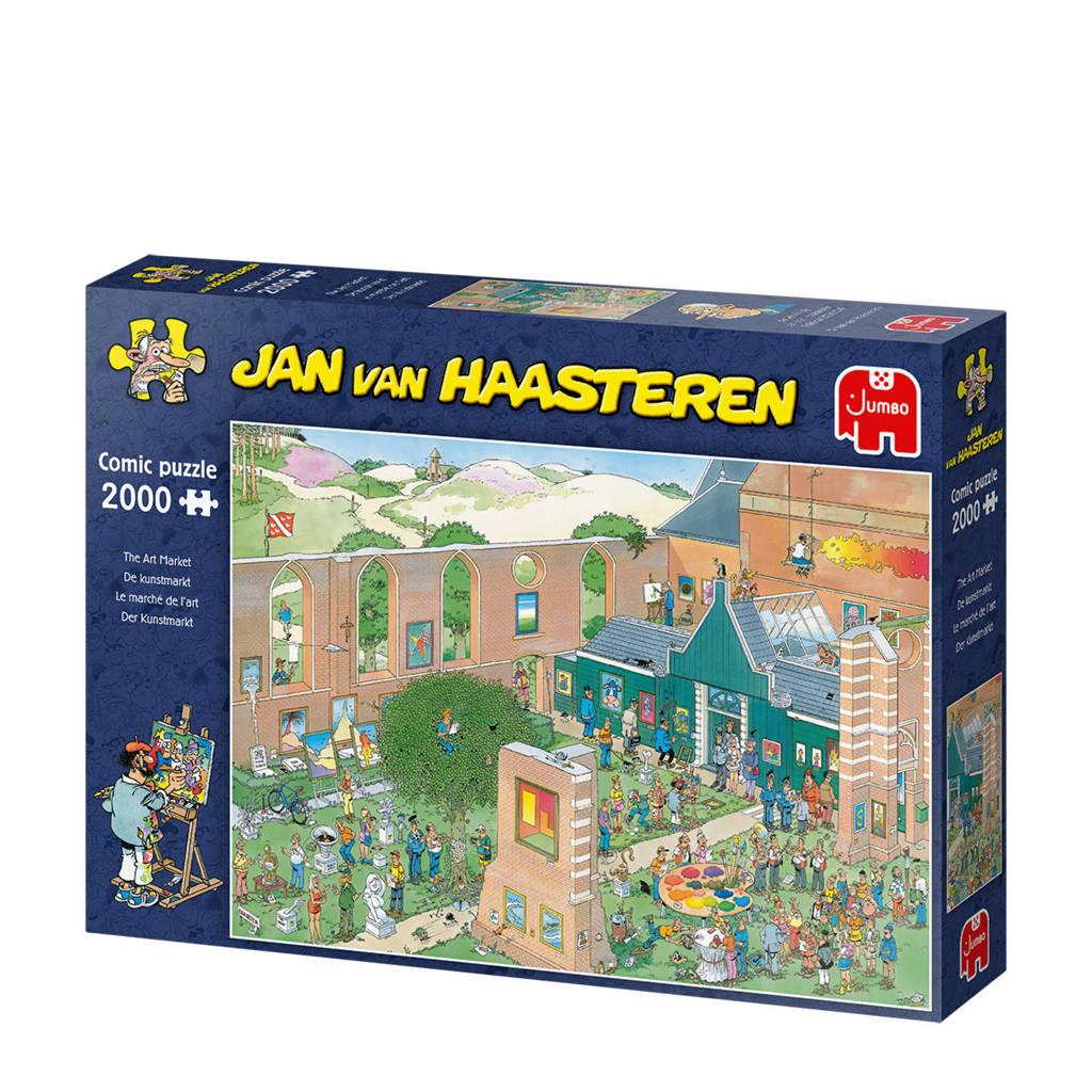 Jan van Haasteren de Kunstmarkt  legpuzzel 2000 stukjes