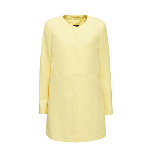 ESPRIT Women Collection coat lichtgeel